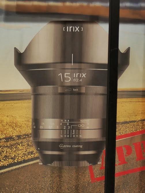 "The IRIX Lens Made From ""Swiss Precision And Korean Innovation"" Is A 15mm F/2.4 Lens"