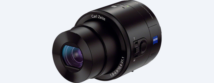 Canon Patent For 3D Lens-style Camera (to Use With Smartphone)