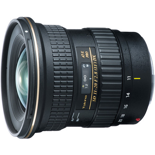 Today Only: Tokina AT-X 11-20mm F/2.8 PRO DX At $449 (reg. $599, B&H)