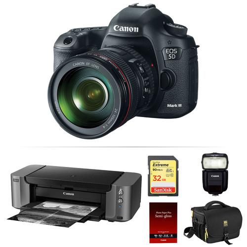 Canon EOS 5D Mark super bundle deal