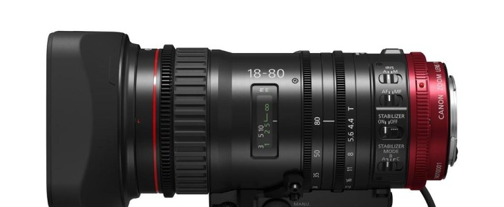 Canon's New Versatile COMPACT-SERVO 18-80mm Zoom Lens Will Have Shooters Smiling About Quality, Performance, And Price