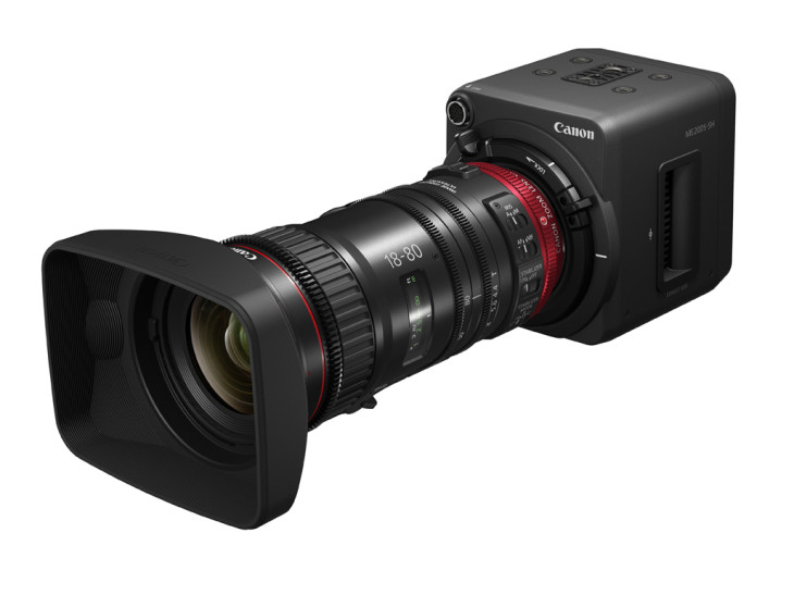 Canon's New ME200S-SH Multi-Purpose Camera Provides Compact Imaging Solution For Live HD Broadcasts, Production, And Surveillance