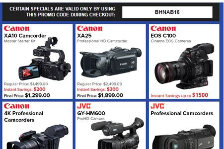 Many NAB 2016 Special Deals Waiting For You