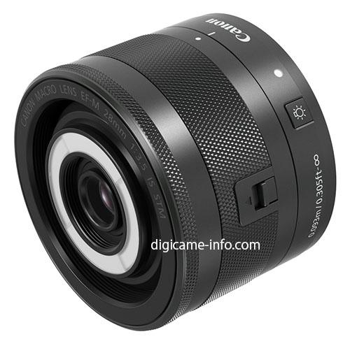 EF-M 28mm F3.5 Macro IS STM