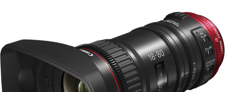 Canon CN-E 18-80mm T4.4 L IS Servo Zoom First Sample Footage (pre-production Model)