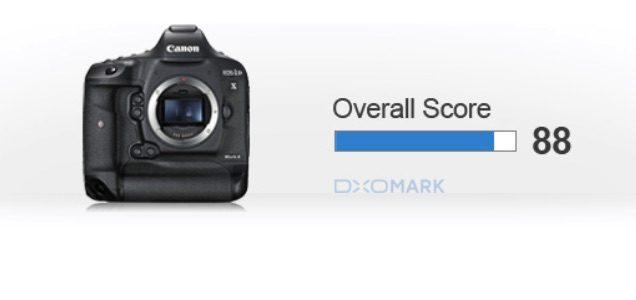 Canon EOS-1D X Mark II DxOMarked, Best Sensor In Canon's Range