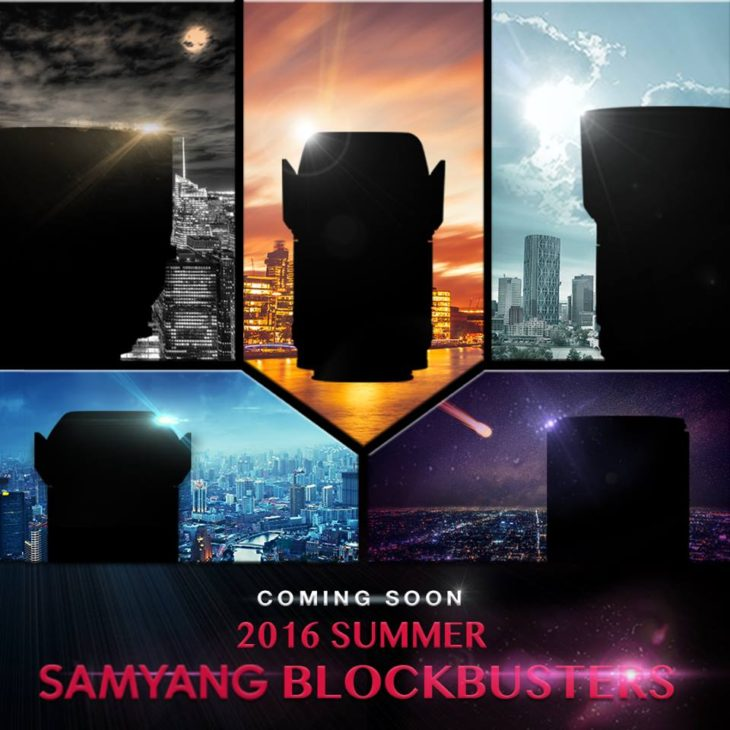 Samyang Going To Announce 5 New Lenses In The Next 5 Weeks