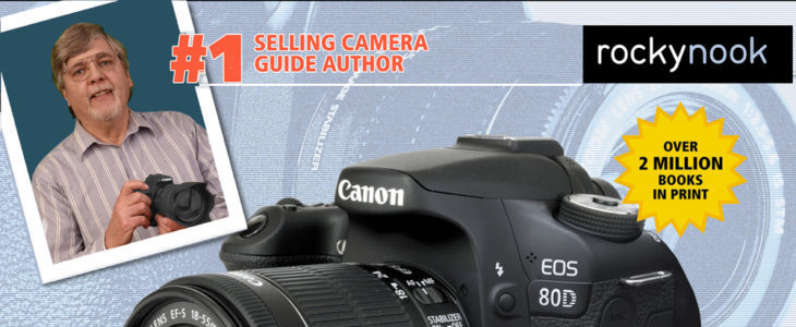 Giveaway: Win A Copy Of David Busch's Canon EOS 80D Guide (2 Print And 3 Ebooks)