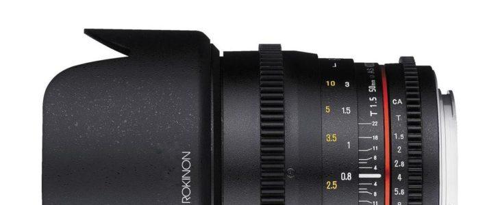 Rokinon 50mm T1.5 Cine DS Lens Deal – $379 (reg. $549, Adorama)