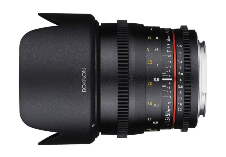 Rokinon 50mm T1.5 Cine DS
