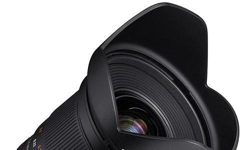 Samyang Announce 20mm F1.8/T1.9 Photo And Cine Lens For Full Frame DSLRs