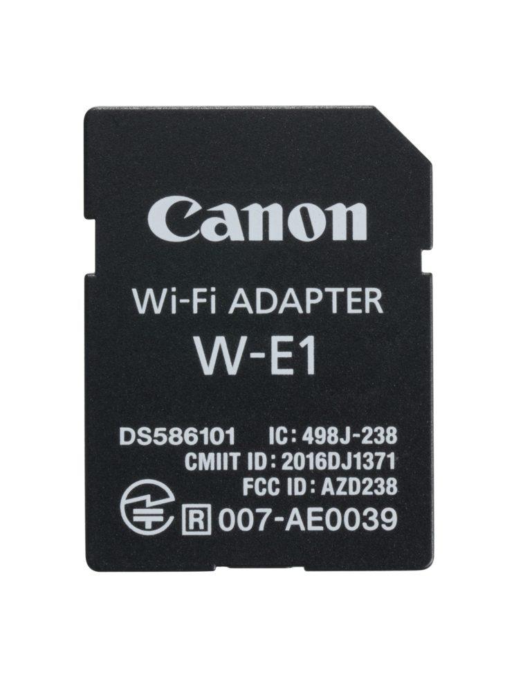 canon w e1 wifi adapter review