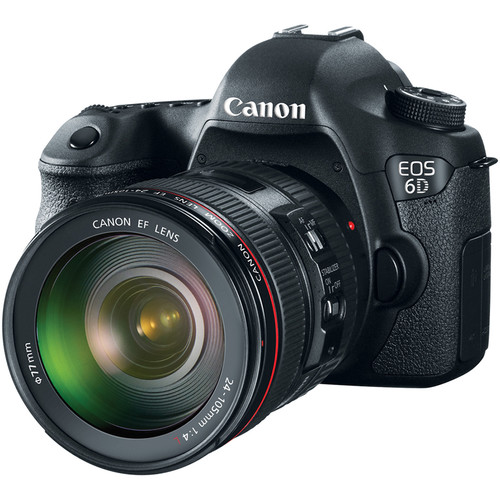 Canon EOS 6D Deal – $1799 With EF 24-105mm F/4L IS (reg. $1999)