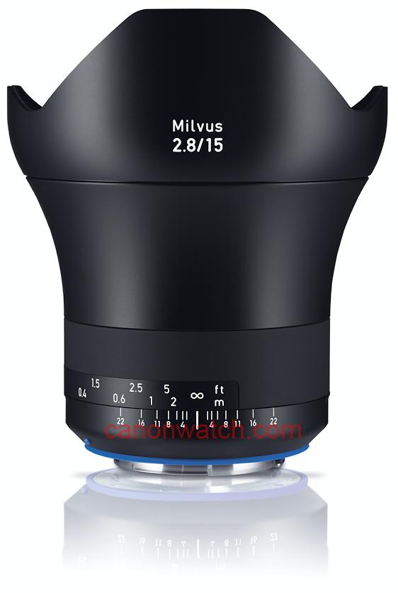 Zeiss Milvus 15mm f/2.8