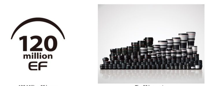 Canon Celebrates Significant Milestone With Production Of 120 Million Interchangeable EF Lenses
