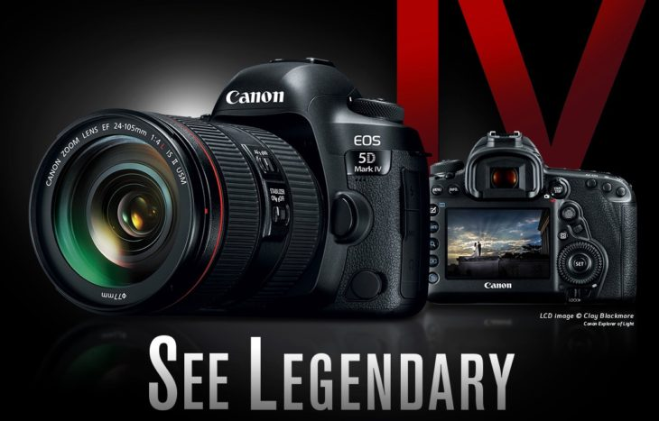 Canon EOS 5D Mark IV Getting C-log2 Update?