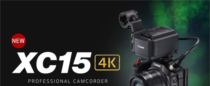 Canon Announce XC15 4K UHD Video Camcorder