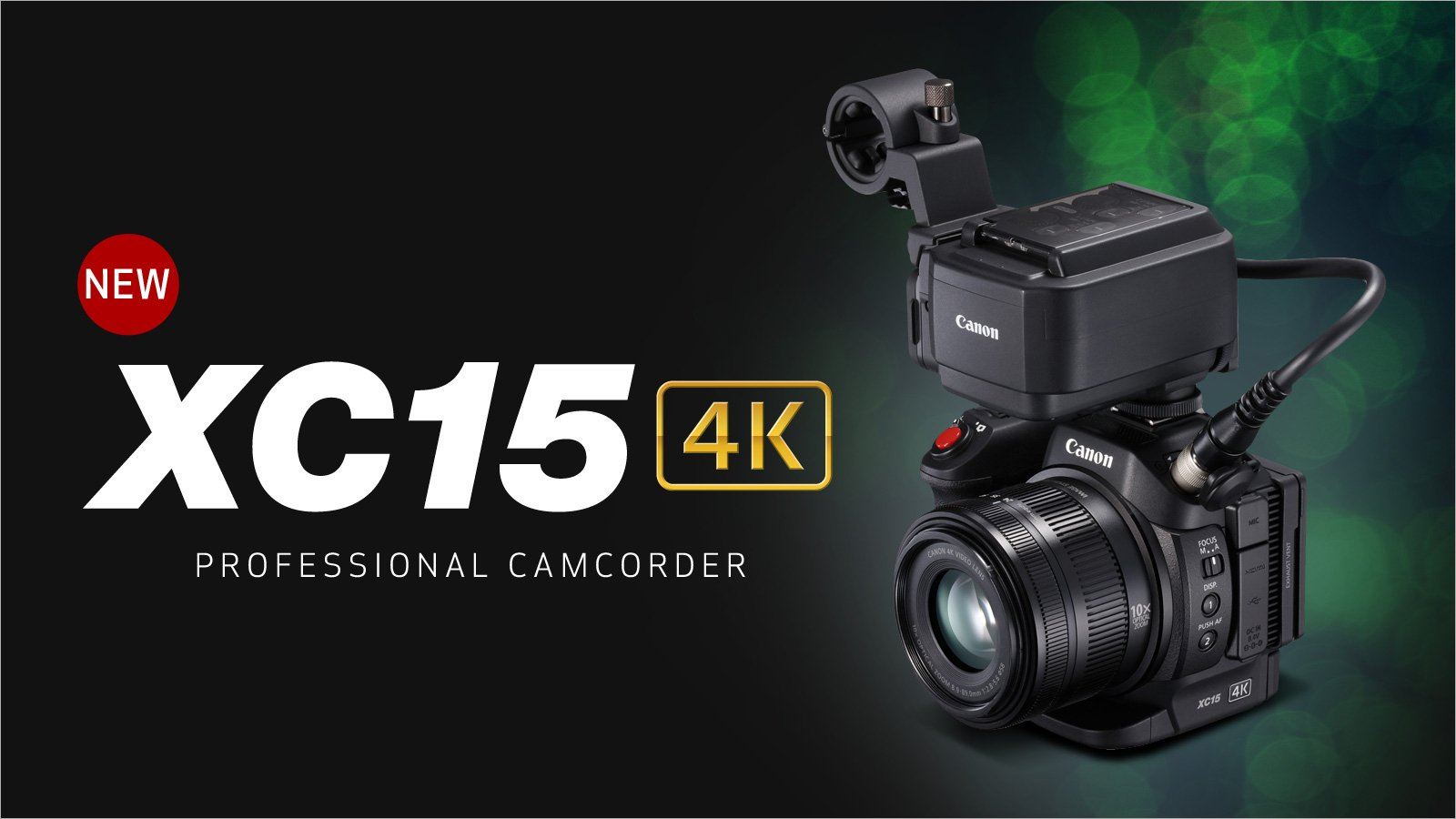 Canon Announce XC15 4K UHD Video Camcorder