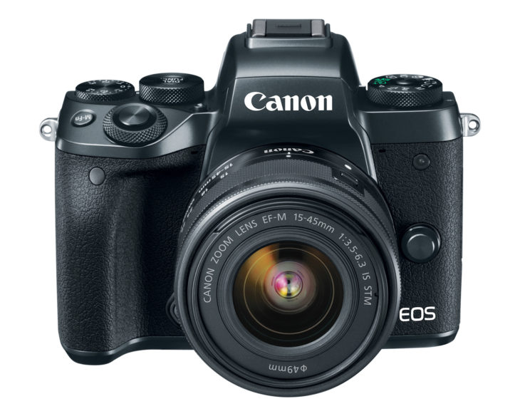 Canon EOS M5 With EF-M 15-45mm F/3.5-6.3 IS STM In Stock And Ready To Ship At Adorama