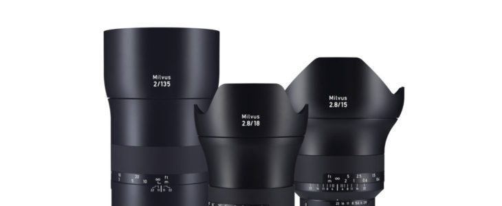 Zeiss Milvus 135mm F/2 And Milvus Distagon T* 18mm F/2.8 First Look Videos