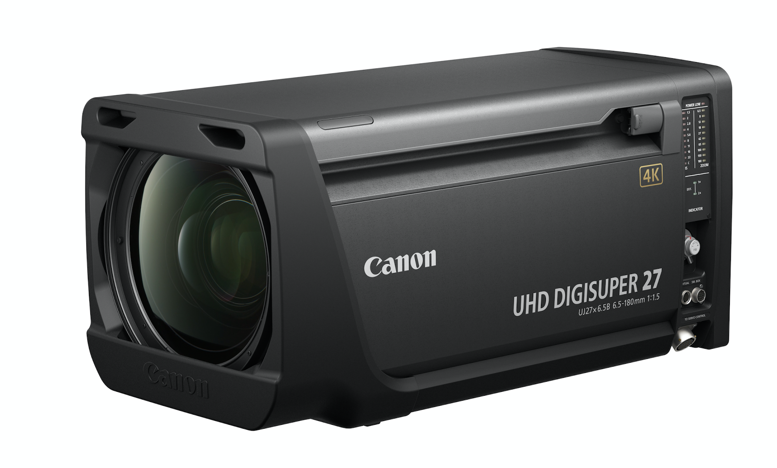 Canon Announce UJ27x6.5B IESD 4K Premium Lens