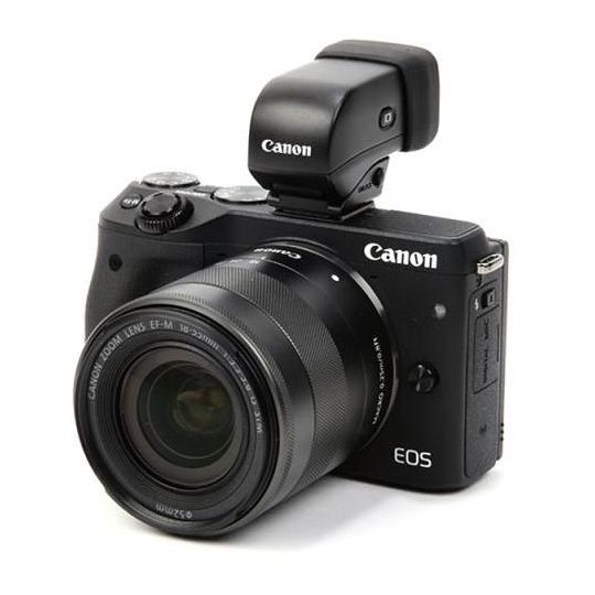 Canon EOS M3 With EVF-DC1 Electronic Viewfinder Deal – $464 (reg. $664, Or $399 For Open Box)