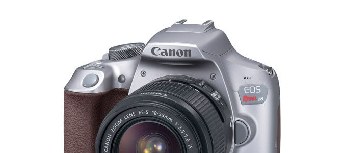 Grey Canon Rebel T6 Shows Up In Canon Store, And Is In Stock