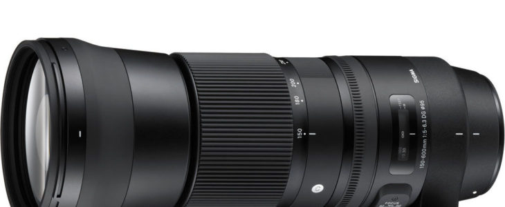 Sigma 150-600mm F/5-6.3 DG OS HSM Contemporary Lens Deal – $839 (reg. $1,089, Today Only)