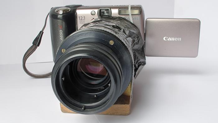 canon a650
