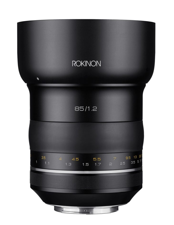 Rokinon SP 85mm F/1.2 (Canon EF Mount) In Stock And Ready To Ship