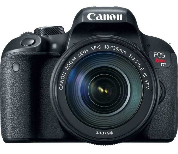 Canon EOS M6, Rebel T7i and EOS 77D manuals available for download