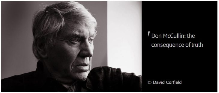 Don McCullin About The Consequence Of Truth (CPS Interview)