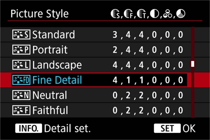 Understanding Canon Picture Styles and how to get the most out of Picture Style editor