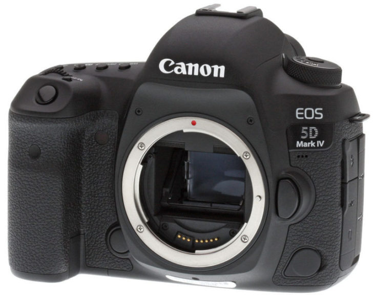 Deal Of The Day: Canon EOS 5D Mark IV – $2260 (reg. $3099, Import Model)