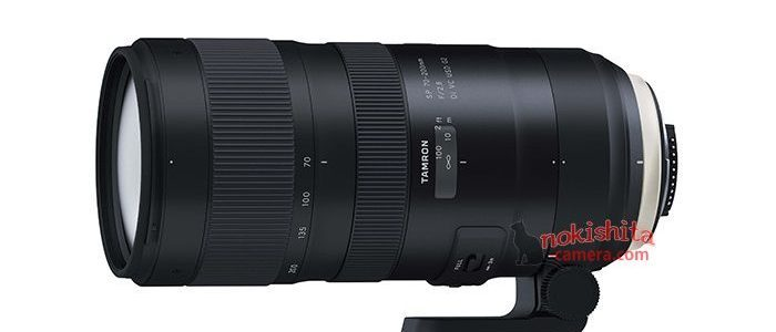 Tamron SP 70-200mm F/2.8 Di VC USD G2 Specifications Leaked [CW5]