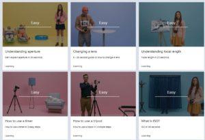 "Canon Australia presents ""BLINK: Photography Tips for Beginners"" short tutorials"