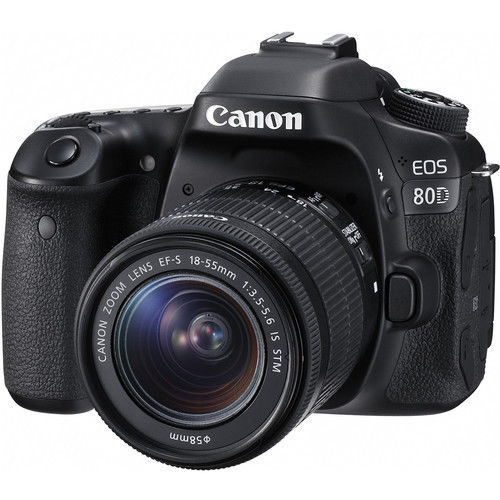 Canon EOS 80D With EF-S 18-55mm IS STM Deal – $850 (reg. $1249, Import Model)