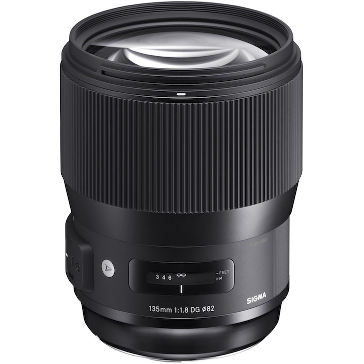SIGMA 135MM F1.8 DG HSM ART Shipping In May, Pre-order Available