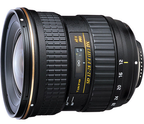 Tokina 12-28mm F/4.0 AT-X Pro For Canon APS-C Mount (EF-S) For Just $199.