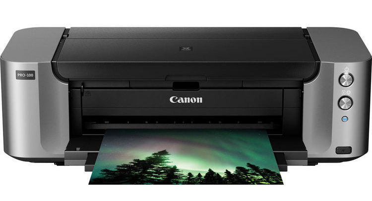 Canon PIXMA PRO-100 Wireless Professional Inkjet Photo Printer Deal – $79 (reg. $379)