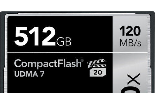 Lexar 512GB CompactFlash Memory Card Deal – $200 (reg. $400, Today Only)