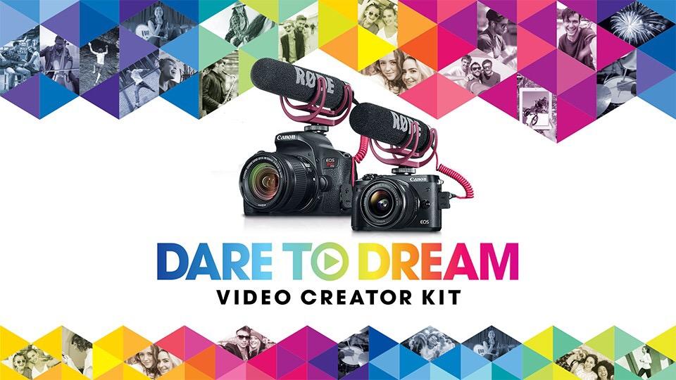 Canon video creator kits