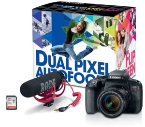 Canon video creator kits