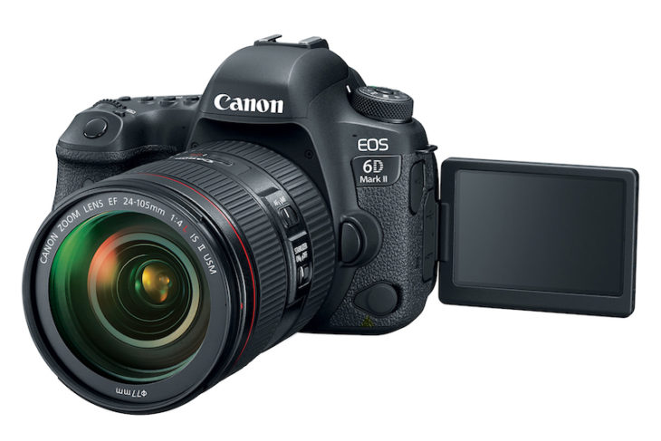 Canon EOS 6D Mark II Firmware Update Coming September 2017?