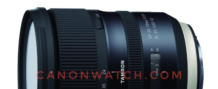 Tamron 24-70mm F/2.8 Di VC USD G2 Specification Leaked