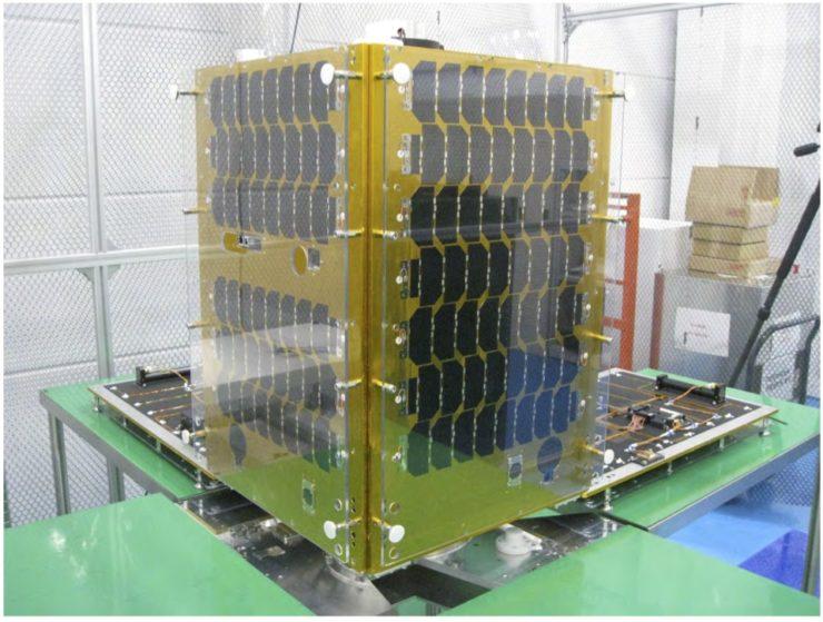 Canon's Imaging Satellite CE-SAT