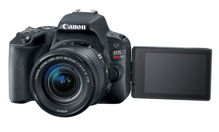 Canon Rebel SL3 Might Be Announced Soon