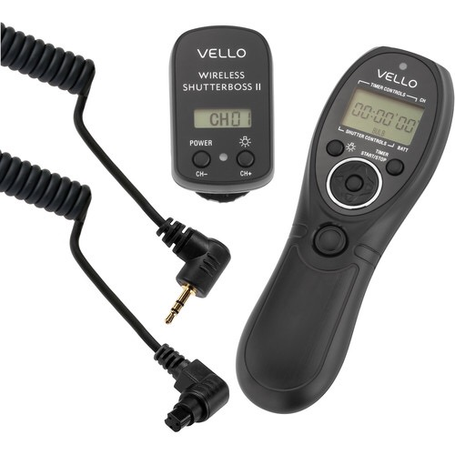 Deal: Vello Wireless ShutterBoss II Remote Switch With Digital Timer For Canon DSLRs – $49.95 (reg. $99.95)