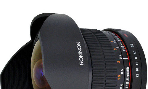 Rokinon 8mm F/3.5 HD Fisheye Lens Deal – $189.95 (reg. $269.95)