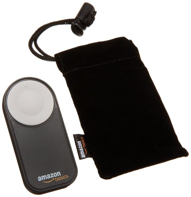 Deal: AmazonBasics Wireless Remote Control For Canon – $8.49